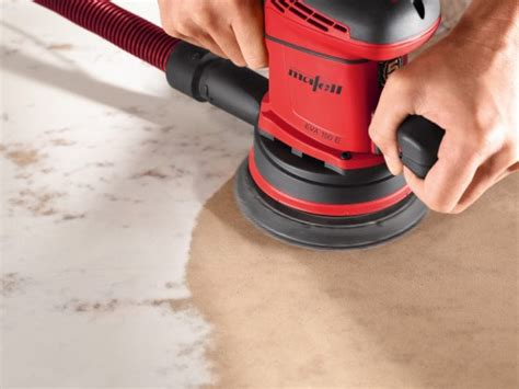 Action: Mafell Orbital Sander EVA 150 E/3 in the MAFELL