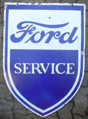 Route 66 Store -Ford Service Emailschild