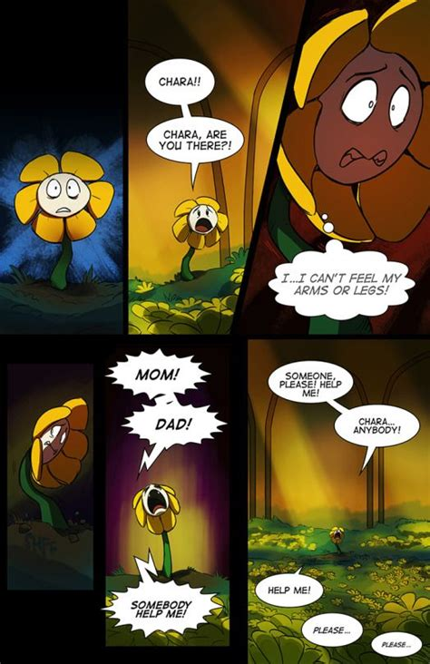 [Click through to read the rest!] Flowey and Asgore