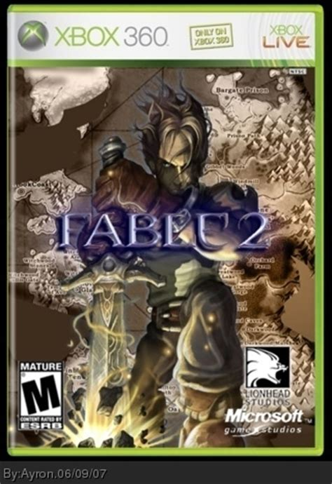 Fable 2 Xbox 360 Box Art Cover by Ayron