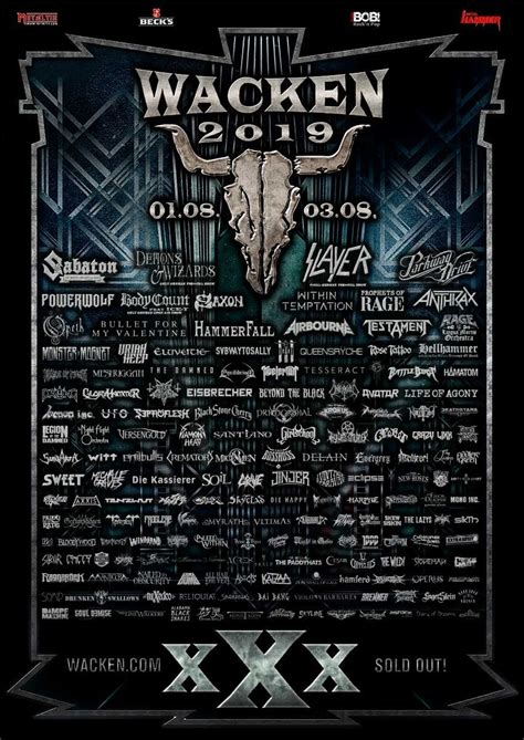 FESTIVAL REVIEW: WACKEN OPEN AIR 2019 Live at Schleswig