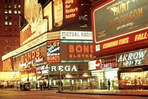 New York City in all its Neon-Lit Glory, 1969 - 1971