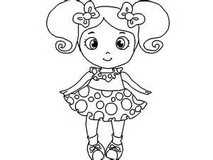 Doll coloring, Download Doll coloring for free 2019