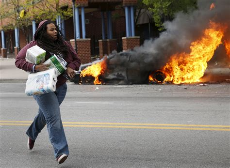 Baltimore Mayor's office: Rioters torched 144 cars and 15