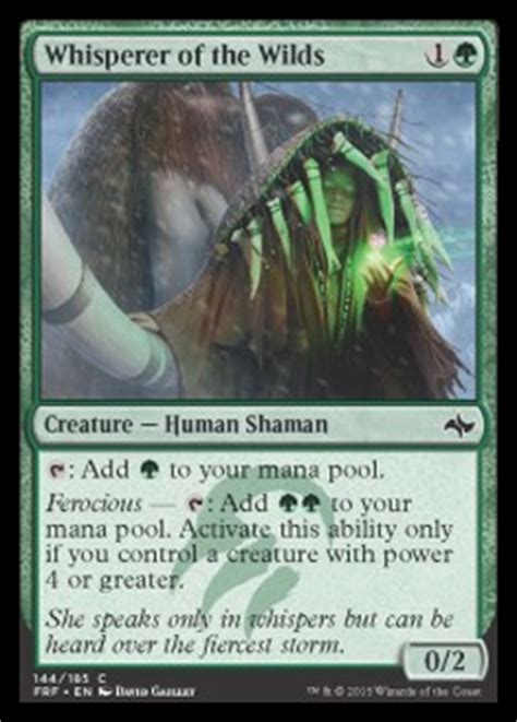 Whisperer of the Wilds | FATE REFORGED Visual Spoiler