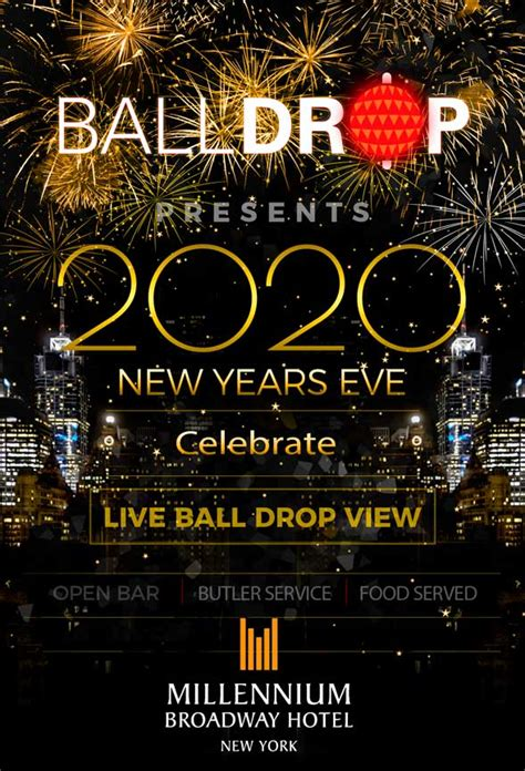 New Years Eve at Millennium Broadway NYC (All Ages) | NYC