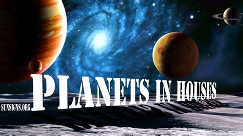 Planets In Houses | Sun Signs