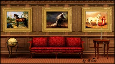 X-tina Sims Equestrian: Classic Painting Collection