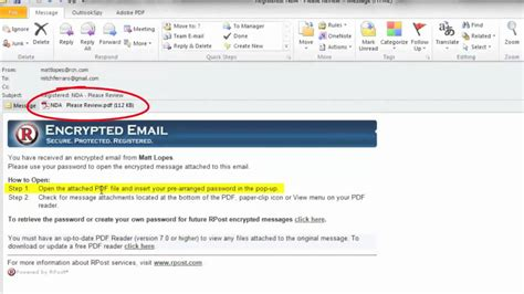Email Encryption - How To Send & Receive Encrypted Email
