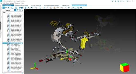 Actify SpinFire, CAD Viewer that supports multi-CAD for 3D