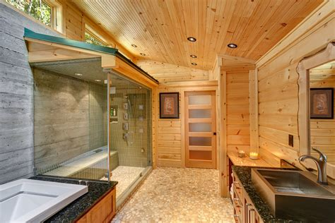 """Building a Log Home but Wanting it to be more """"Modernized"""