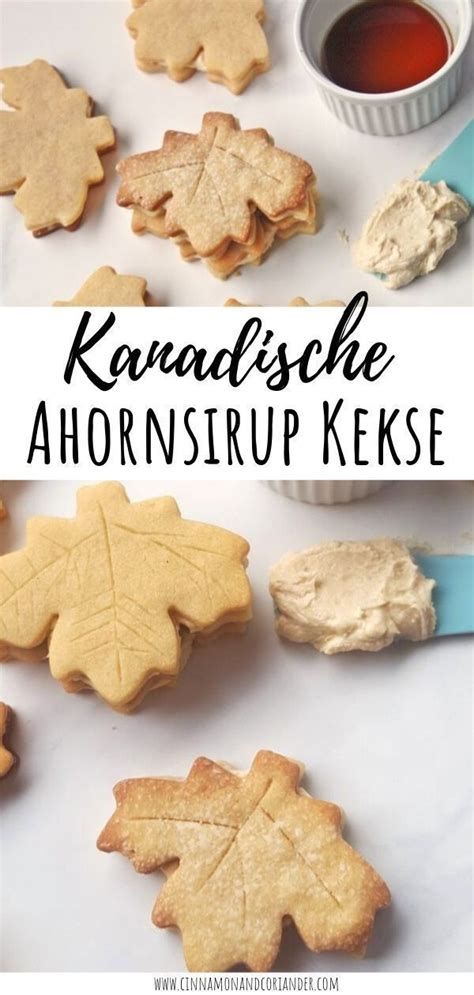 Maple Cream Cookies - the best ever | Rezept | Ahornsirup
