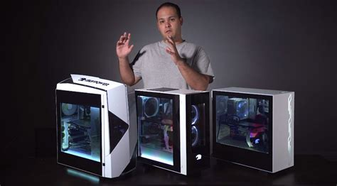 iBuyPower now offers standalone Snowblind cases with LCD