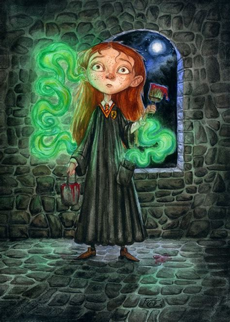 Ginny is possessed by Tom Riddle in his diary – The Harry