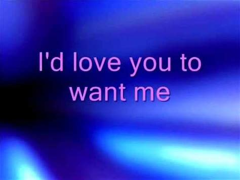 BABY , I'd love you to want me - Lobo ( Extended Mix