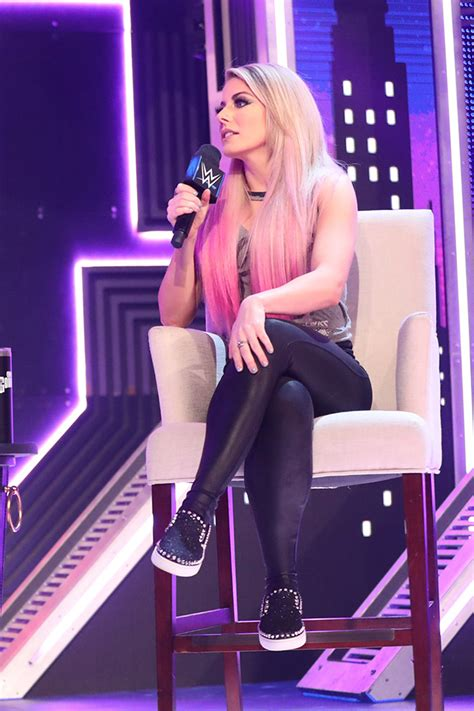Alexa Bliss at WWE SmackDown - Leather Celebrities