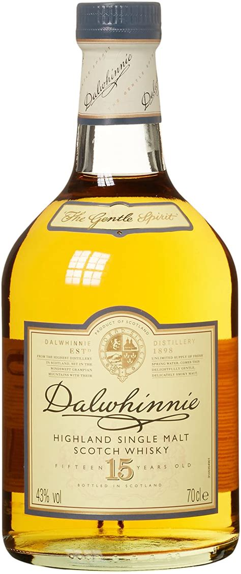 34,99 € - Dalwhinnie Highland Single Malt Scotch Whisky