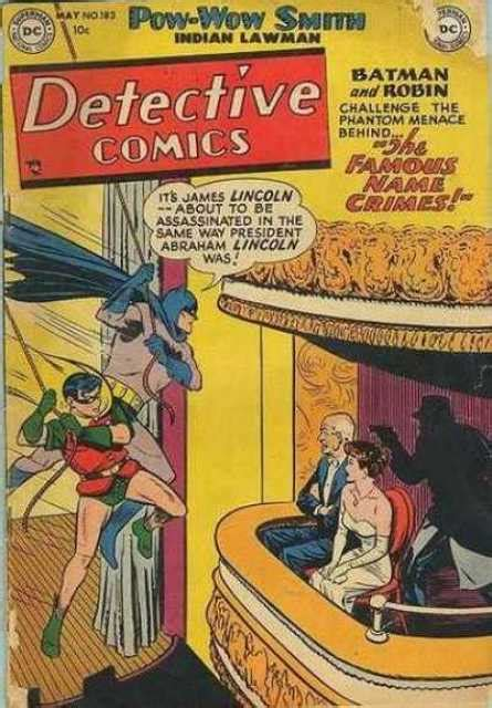 Detective Comics #184 - The Human Firefly (Issue)