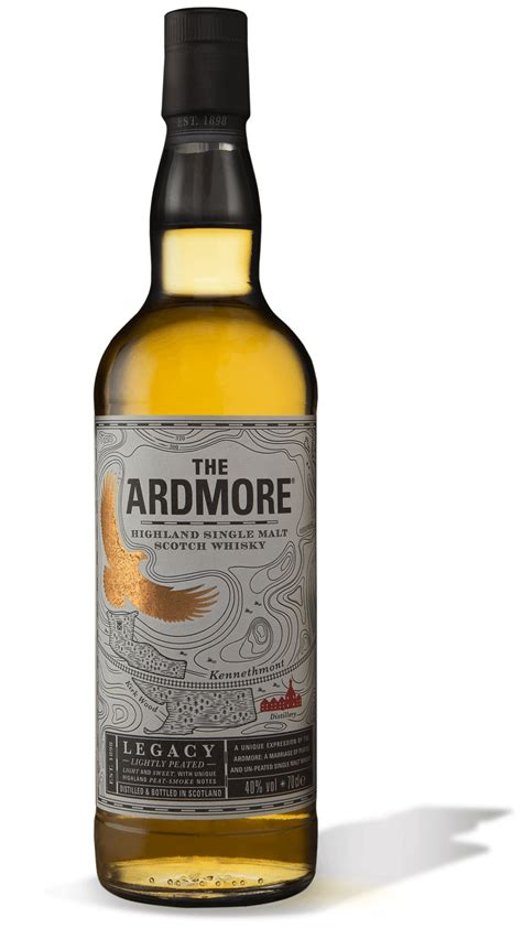 The Ardmore® Legacy Peated Whisky   Peated Malts
