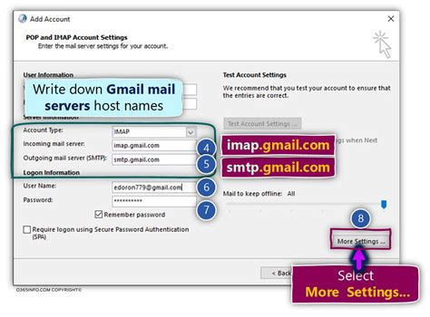 Outlook Gmail, IMAP |Configure Outlook connect your Gmail