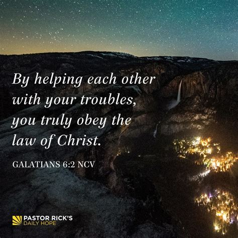 Don't Give Up: Accept Help from Others - Pastor Rick's
