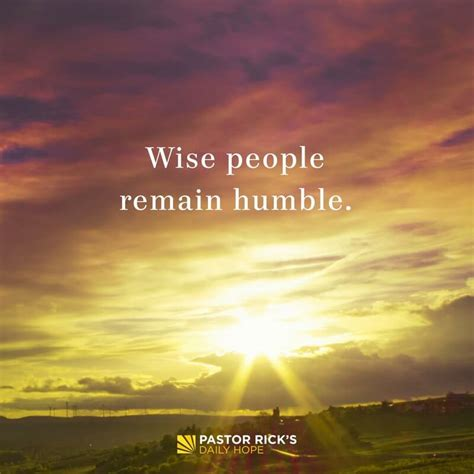 Be Humble or You'll Stumble - Pastor Rick's Daily Hope