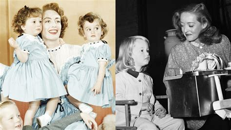 Photos: Joan Crawford and Bette Davis with Their Children