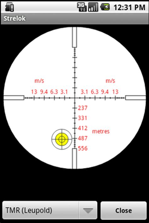 IPhone app for sighting in Nikon scopes????? - Texas