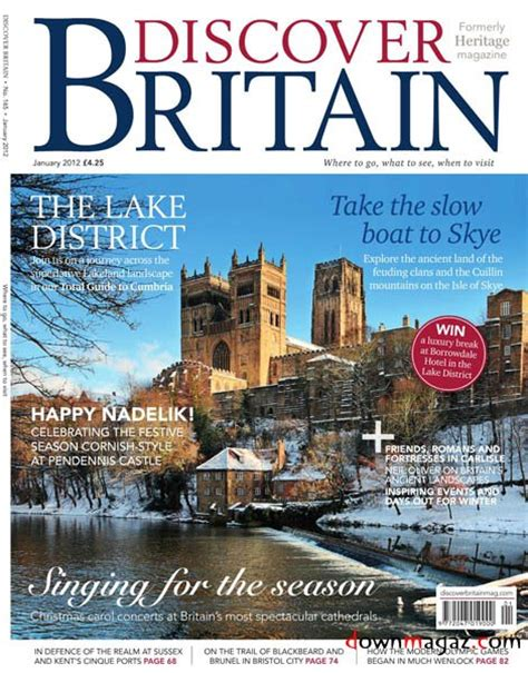 Discover Britain - January 2012 » Download PDF magazines