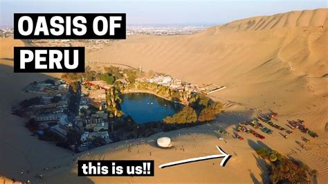 THIS IS UNREAL!! | Peru Desert Oasis of Huacachina | The