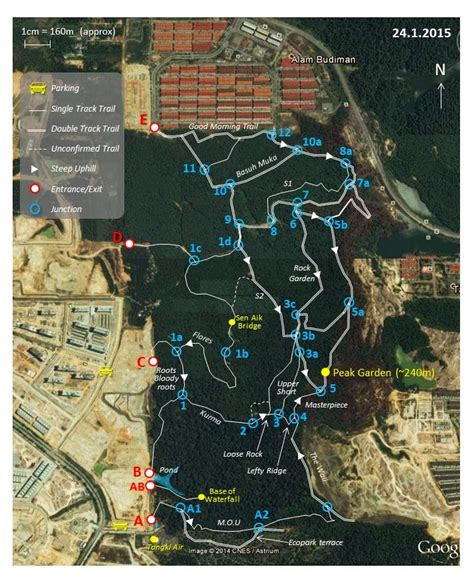Setia Alam Trail - tips and guides