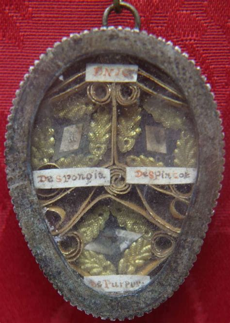 Russian Store - Reliquary theca with relics of Arma