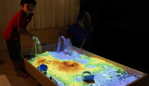 Projection mapped interactive Sand Box – CG Everything