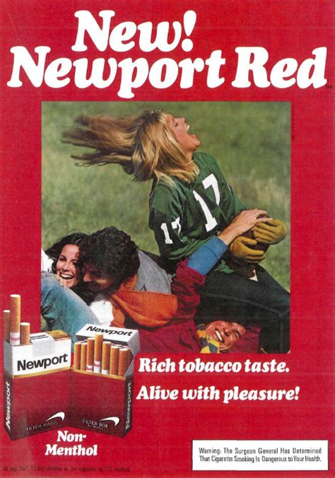 """""""Alive With Pleasure!"""" – Newport Adverts on Magazines From"""