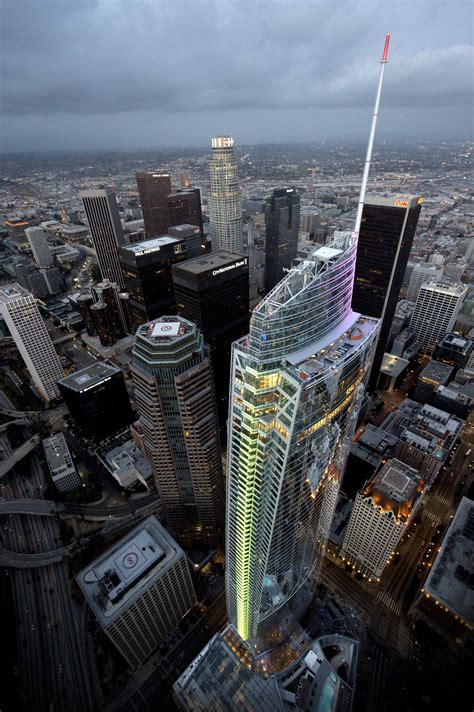 FEATURED PROJECT: WILSHIRE GRAND – David Silverman and