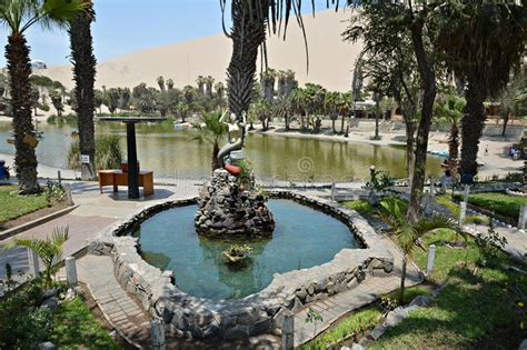Lake In Huacachina