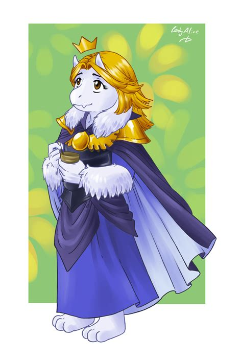 r63 has arrived, so here's queen asgore