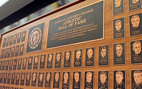 Gustavus to Induct Nine New Members into Athletics Hall of