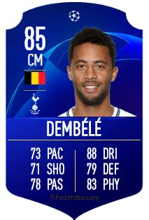 Moussa Dembélé FIFA 19 Rating, Card, Price