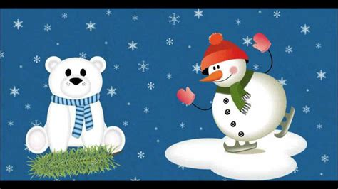 Snowman Song for Children (good for Christmas and New Year