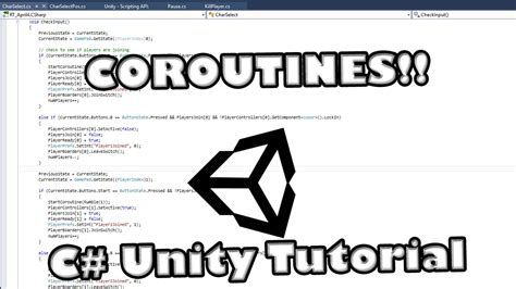 Unity C# Coroutine Basic Timer Tutorial - YouTube