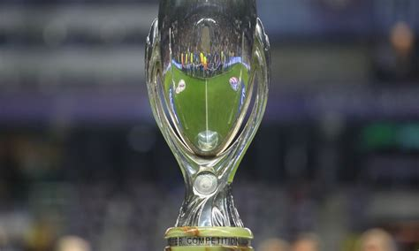 Liverpool to play Chelsea in the 2019 UEFA Super Cup