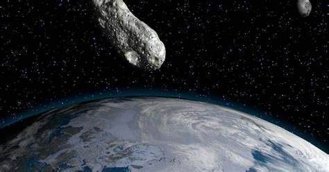A BUS-sized asteroid is set to blaze past Earth today