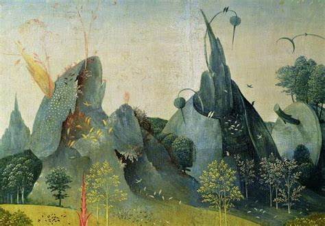 The Garden of Eden, detail from the righ - Hieronymus