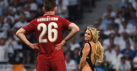 Champions League Final pitch invader Kinsey Wolanski