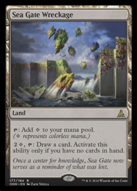 Sea Gate Wreckage | OATH OF THE GATEWATCH MTG Visual Spoiler