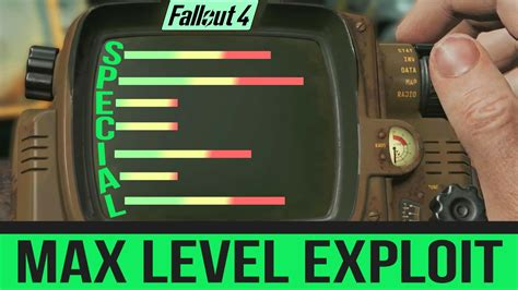 Fallout 4 Secret Cheat Codes - MAX LEVEL Your Character's