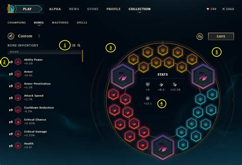 ALPHA - Let's Fix the Rune Page!!!