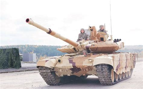 Army to have Russian T-90 tanks with 'Make in India