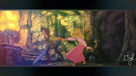 We Could Be The Heroes - Taran & Eilonwy - YouTube